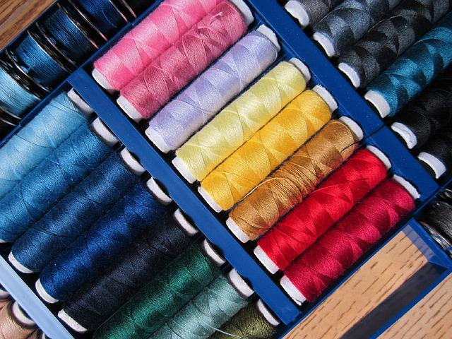 Sewing Thread Colorful Sew Spools