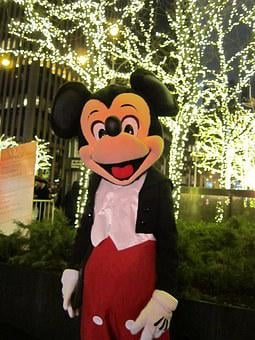 Mickey Mouse, New York City