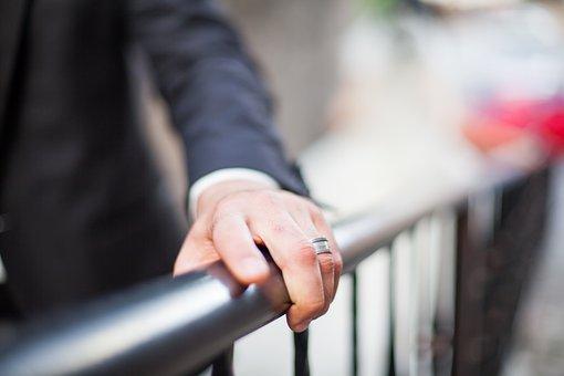 エル, 結婚指輪, リング, 義理の息子, 花嫁花婿, 結婚, 結婚式, レトロ