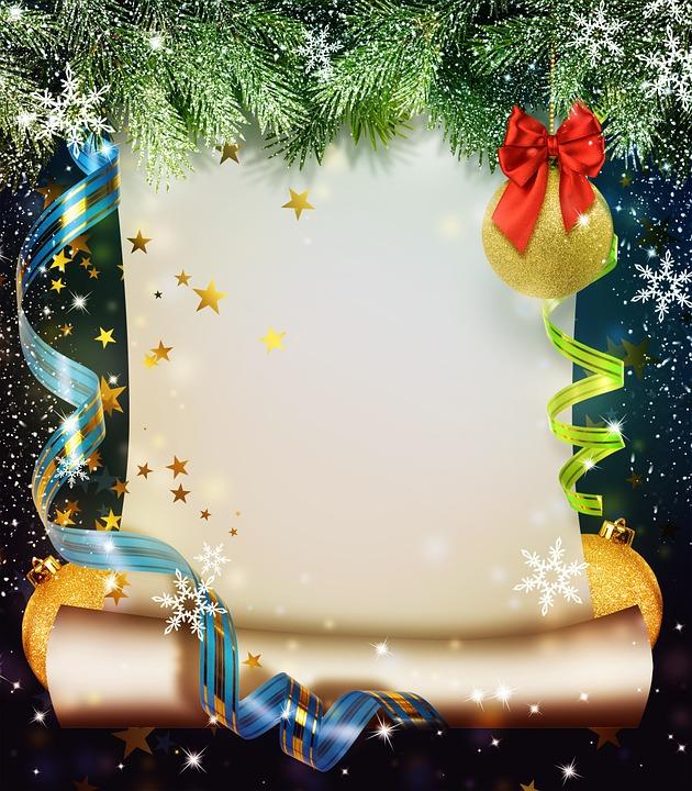 Фон на открытки новый год