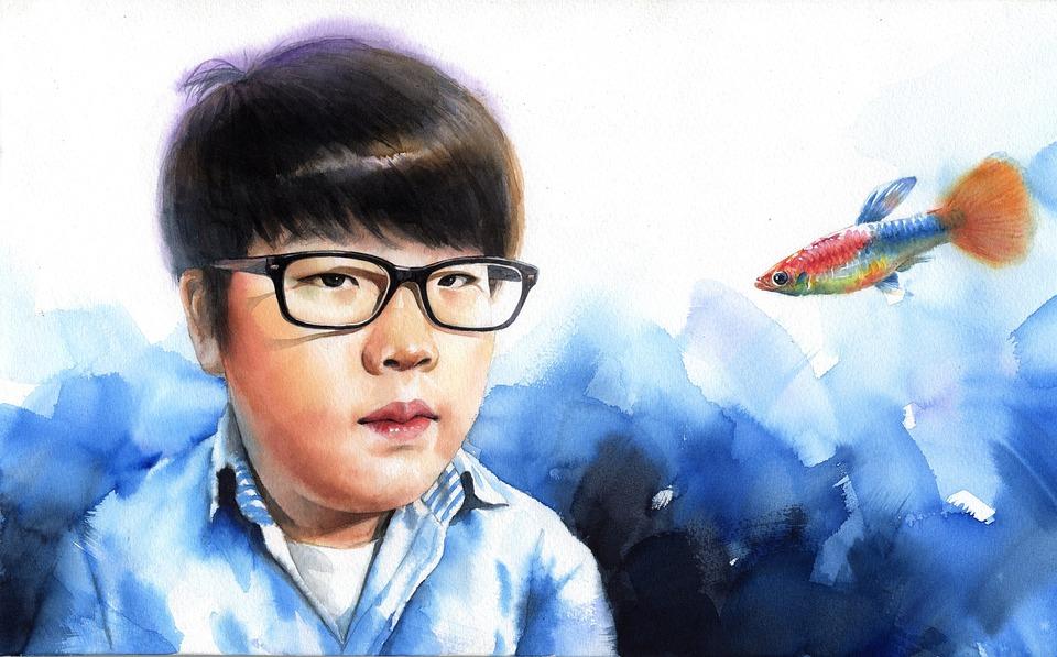 Watercolor Art Children S Face Painting