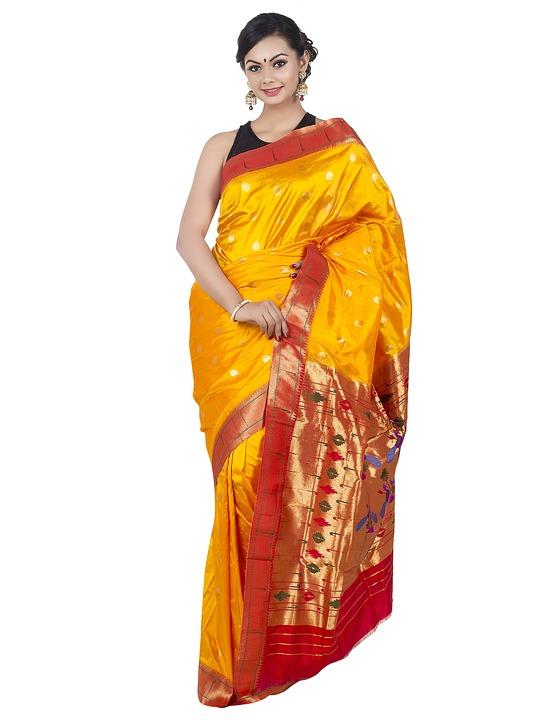Wedding Saree Paithani 183 Free Photo On Pixabay