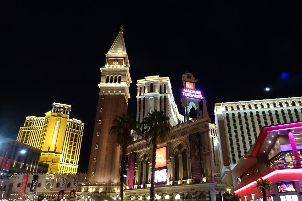 Las Vegas, Gazy, Rozrywka, Turystyki, Hotel, Kasyno