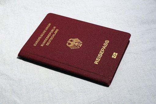 パスポート, 渡す, 旅行, ドキュメント, Id, 立ち去る, Id カード
