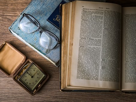 Book, Glasses, Watch, Knowledge