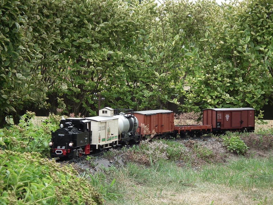 Garden Railway Steam Locomotive · Free photo on Pixabay
