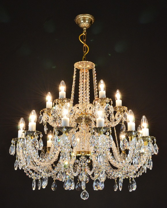 Free photo Crystal Chandelier From The Czech Rep Free Image on – Chrystal Chandelier