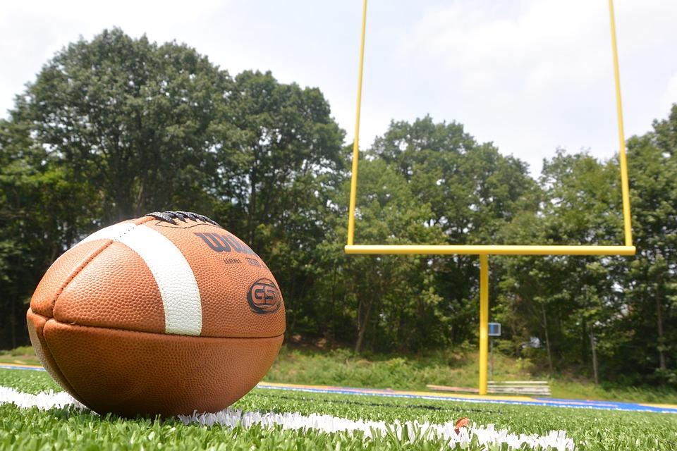 Free Photo: Football, Field, Goal, Touchdown
