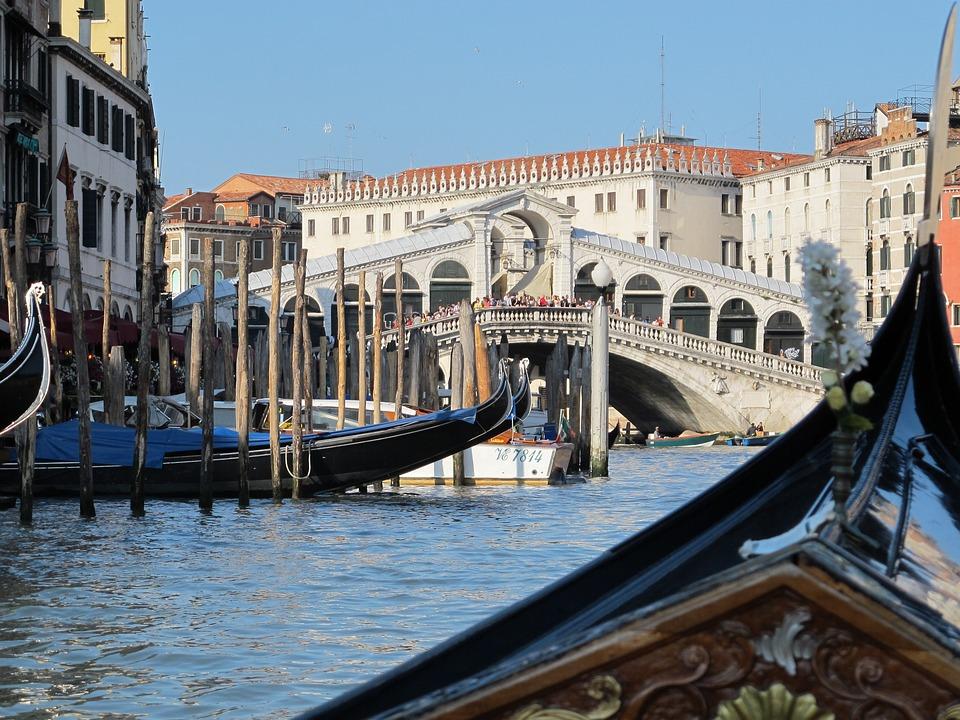 Photo Gratuite  Italie  Venise  Pont Du Rialto