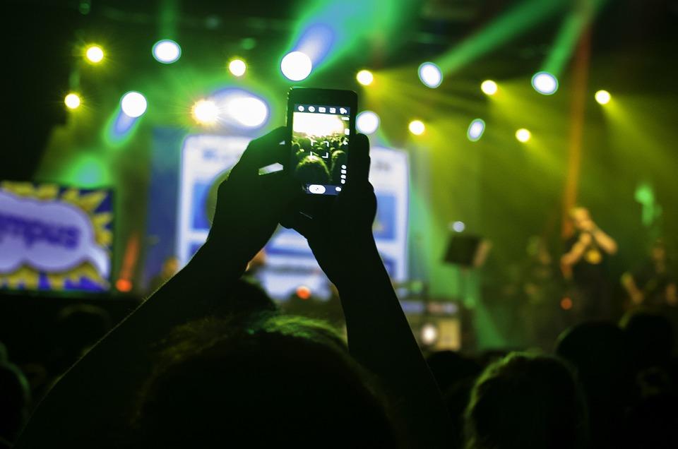 Hendelse, Telefonen, Smartphone, Mobiltelefon, Konsert