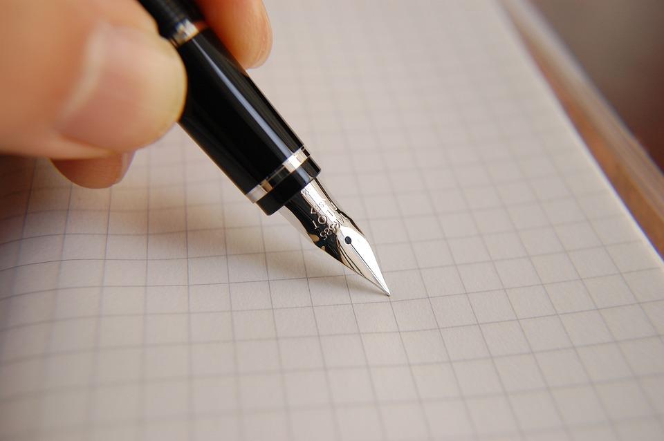 万年筆, インク, ペン, ビジネス, ドキュメント, 書き込み, オフィス, 署名, 手書き, 書道, 手紙
