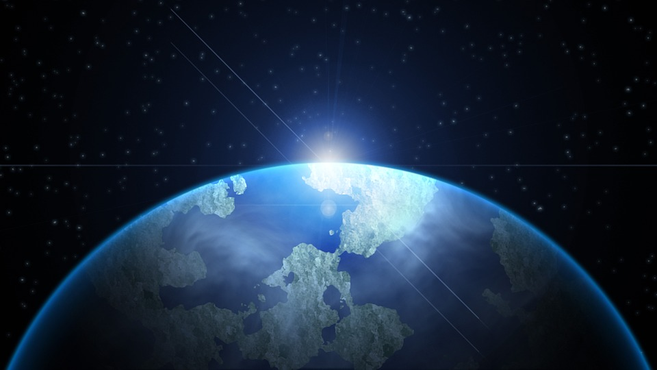 Earth Graphic Design Background
