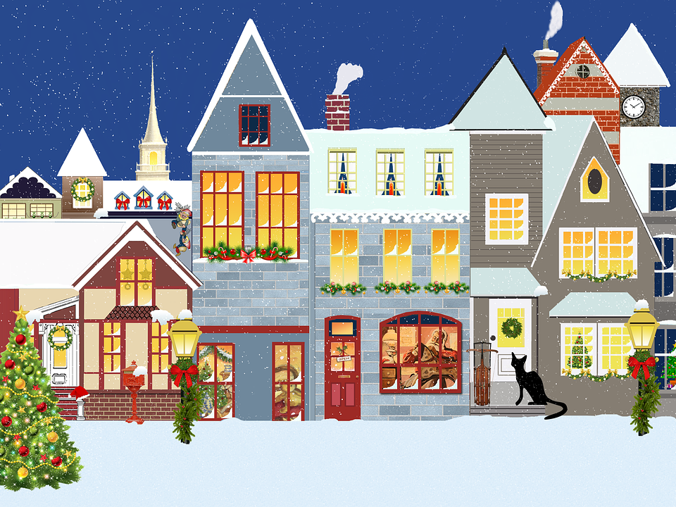 Christmas Village Houses.Christmas Village Houses Free Image On Pixabay