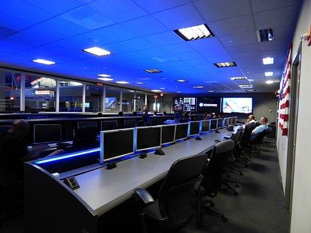 コントロールセンター, 研究室, Nasaの, Jpl, パサデナ, スペース