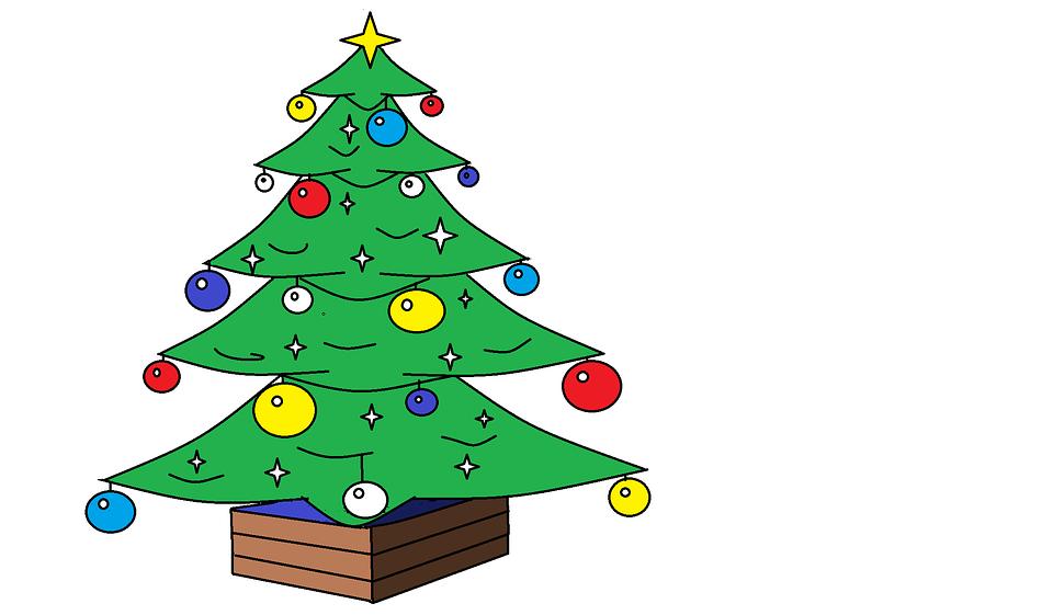 vánoční stromeček z dřevěných hranolů