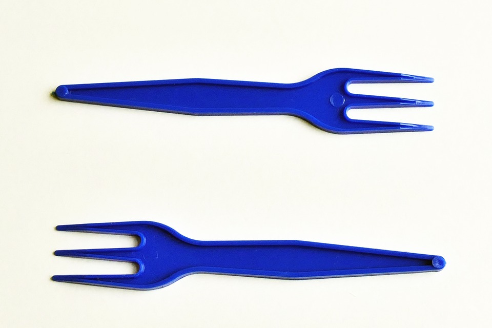 Plastic, Forks, Food, Set, Light, Dining, Colors