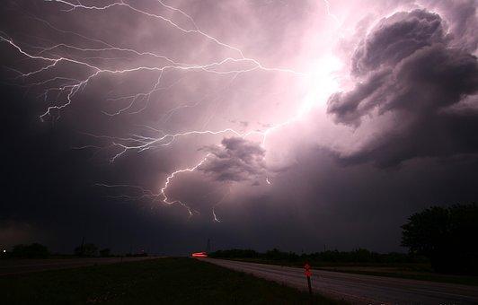 Lightning, Thunder, Lightning Storm