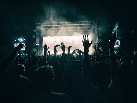 群衆, ダンス, 祝賀会, 人, 踊る人々, ディスコ, 音楽, 楽しい