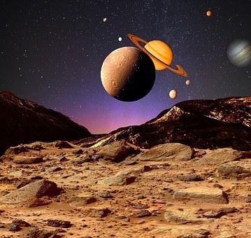 Universe, Cosmos, Space, Planet