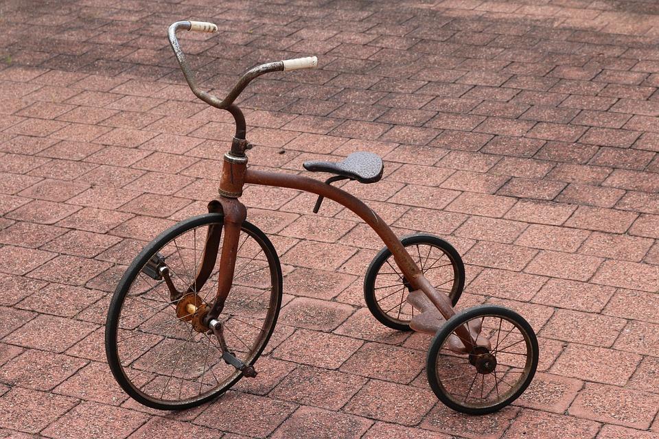 Foto Gratis Triciclo Retr 242 Vintage Immagine Gratis Su
