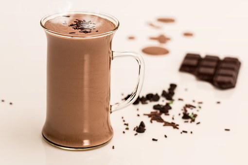 Hot Chocolate Drink Dairy Winter Milk Swee