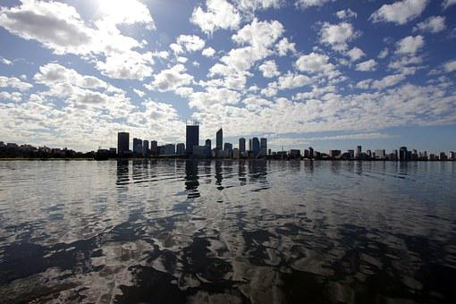 Swan River, Perth, Wa, Australia, River