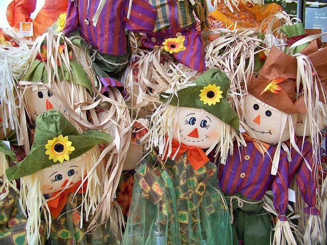 fall autumn scarecrow  u00b7 free photo on pixabay