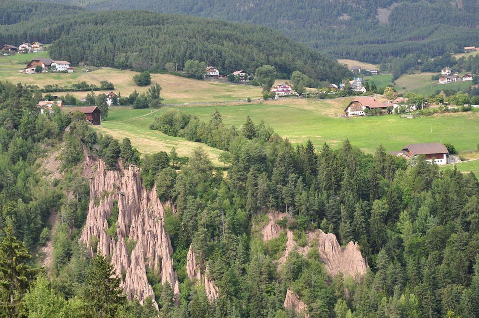 South Tyrol, Earth Pyramids, Landscape