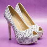 small change, heels, strass