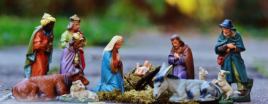 Christmas Crib Figures, Christmas