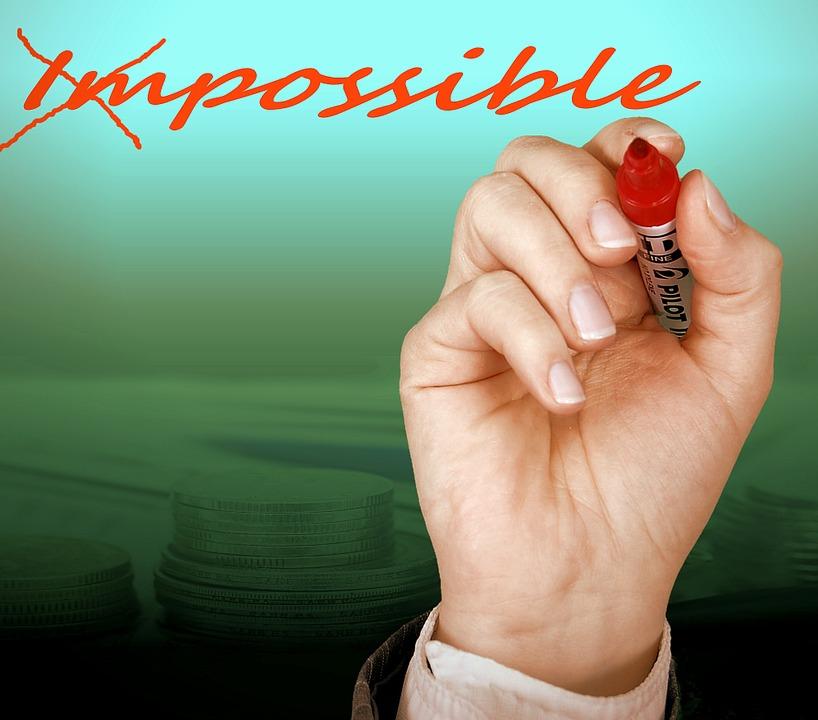 Posible, Imposible, Oportunidad, Mano, Deja, Opción