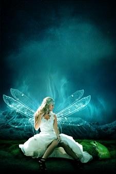 Dreamland, Angel, Fairy Tales, Woman
