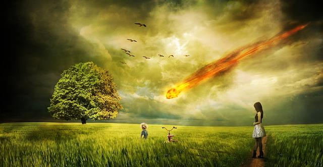 Meteorite Impact Comet 183 Free Image On Pixabay