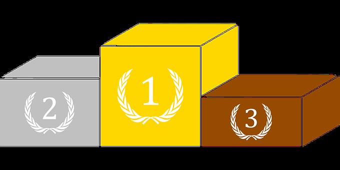 Podium, Sport, Trophy, Victory, Medal