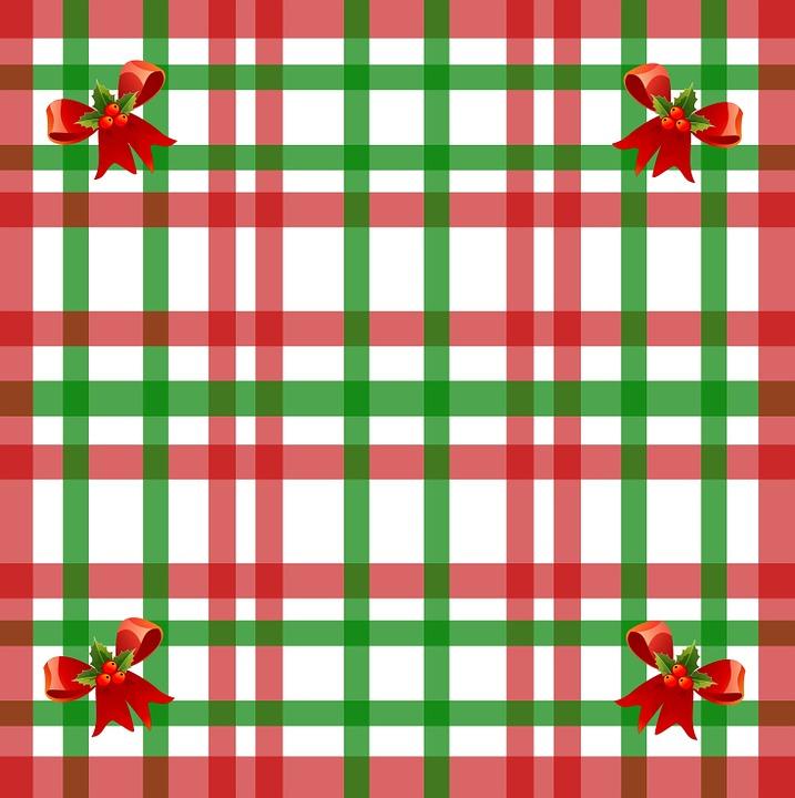 Free illustration: Christmas, Gingham, Pattern, Red - Free Image ...