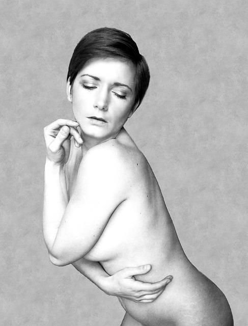 Nude Girl On Public