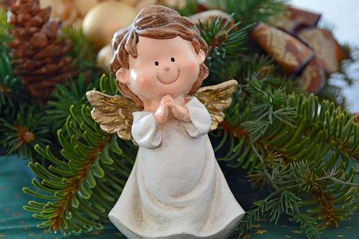Vánoce, Angel, Andělská Křídla, Dekorace
