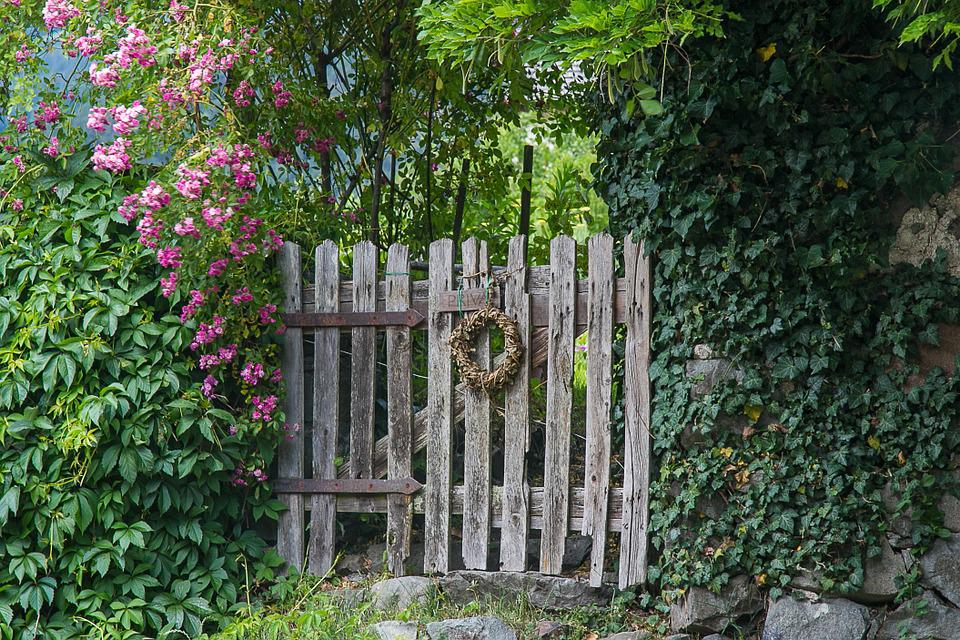 private garden fenced garden door & Private Garden Fenced · Free photo on Pixabay