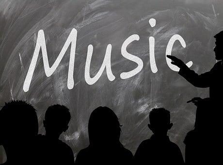 School, Board, Music, Blackboard