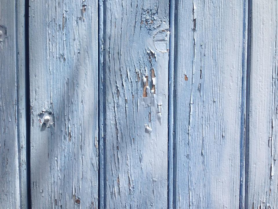 Gratis Foto Blauw Hout Panel Textuur Hout Gratis