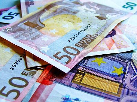 Currency, Notes, Euro, 50, Used Notes