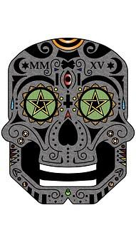 sugar skull images pixabay download free pictures