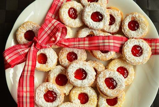Cookie, Christmas Cookies, Pastries