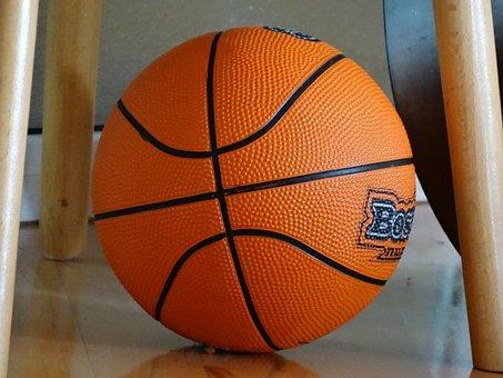 Ball, Basket-Ball, Orange