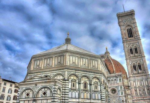 Florence, Italia, Duomo, Eropa, Firenze