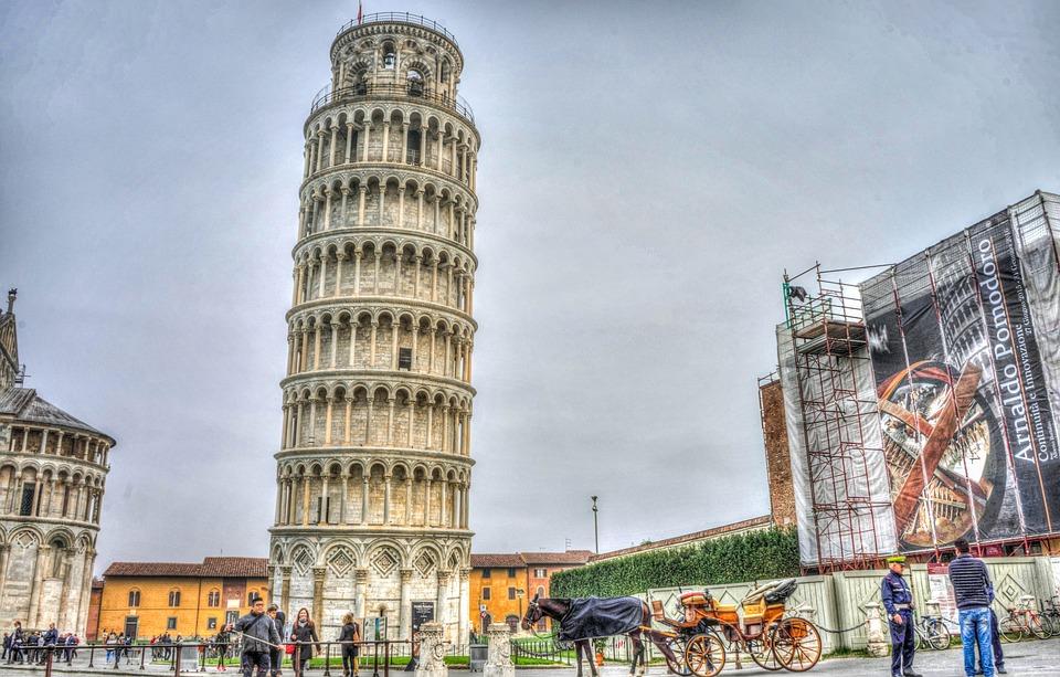 Pisa Kulesi, Italya, Tuscany, Piza