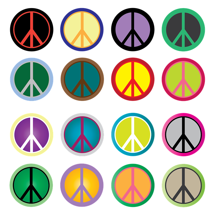 Peace Sign Hippie Free Image On Pixabay