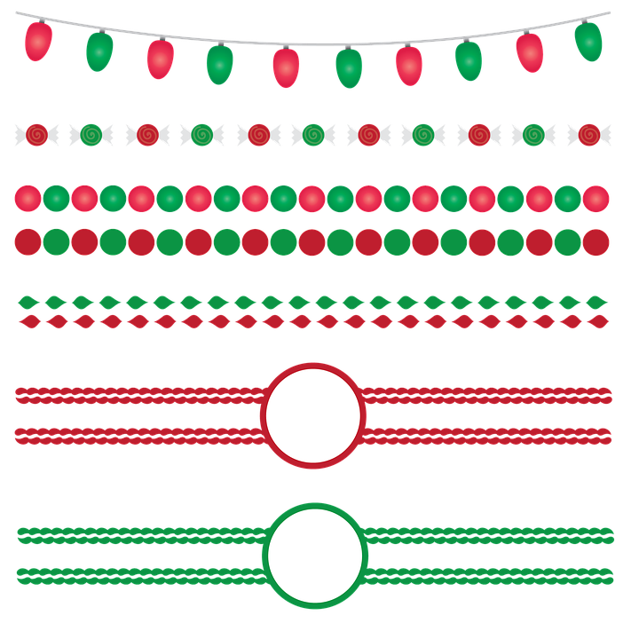 Christmas Borders Frames · Free image on Pixabay