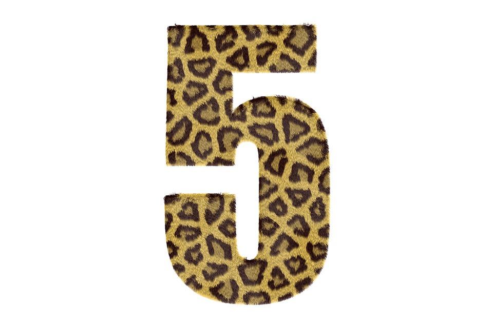 Five Number Pattern - Free image on Pixabay