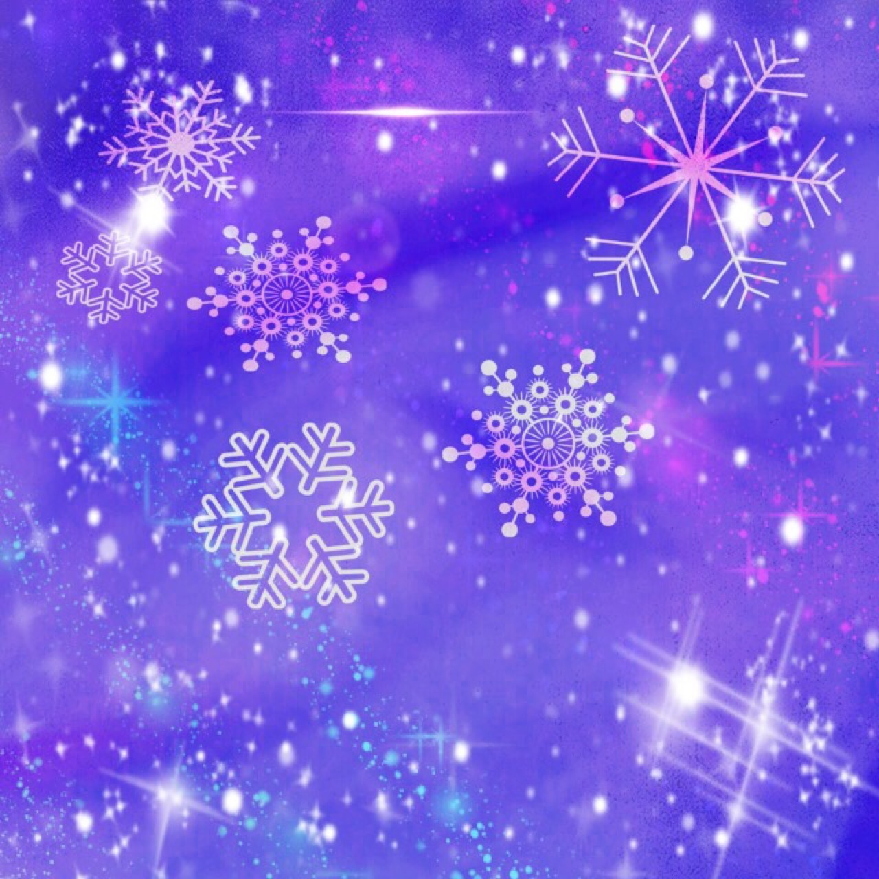 Звездочки картинки снежинки